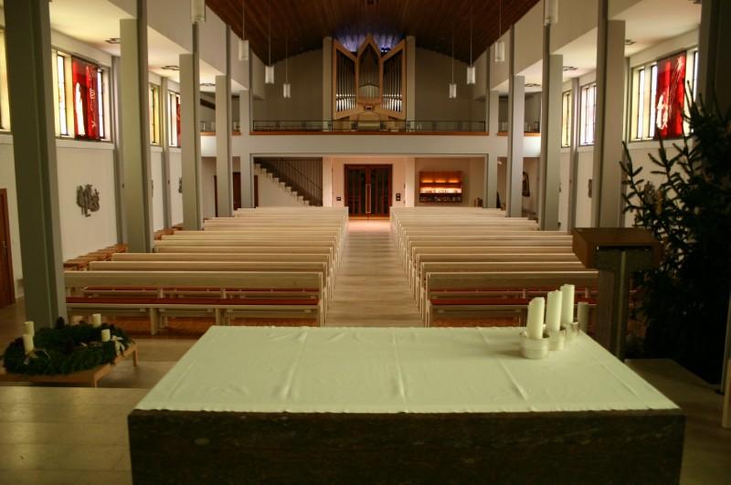 F R Moderne Kirchenr Ume Gebr Der Hauser Kirchengest Hl