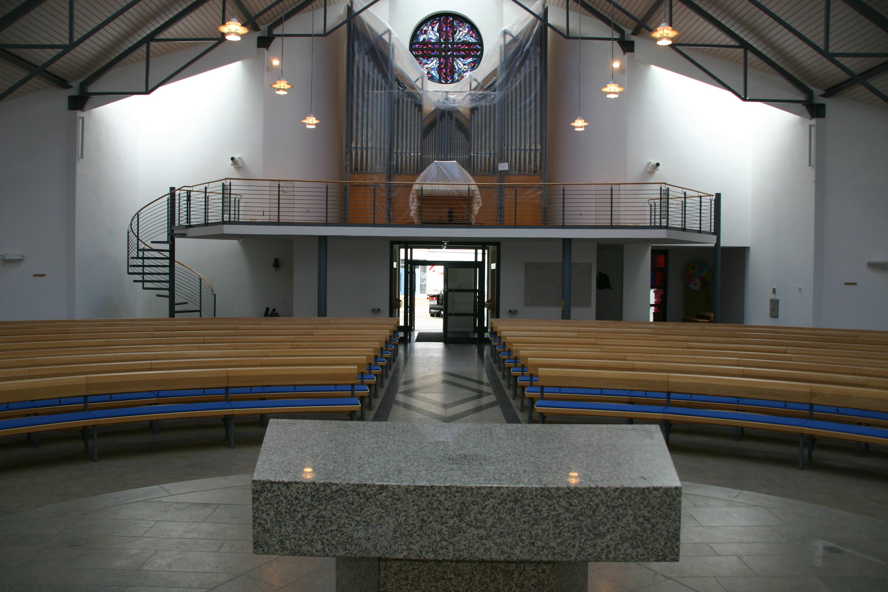 RUNDBANKSYSTEME - Gebrüder Hauser Kirchengestühl